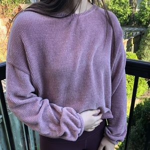 Pink soft American eagle sweater